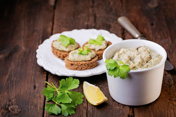 Dig the dip: smoked fish pate