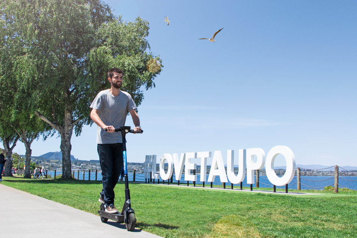 Taupō's a-GLOW: Keeping Pace, e-Style