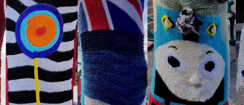 Greerton Village Yarn Bombing